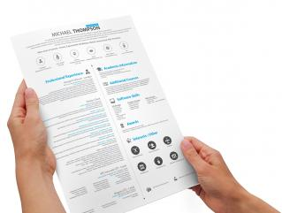 Resume Template Buoyant Ultra View 1