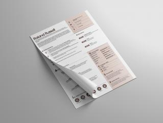 Resume Template Titan View 1