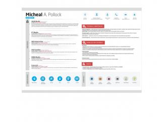 Resume Template Orient View 1