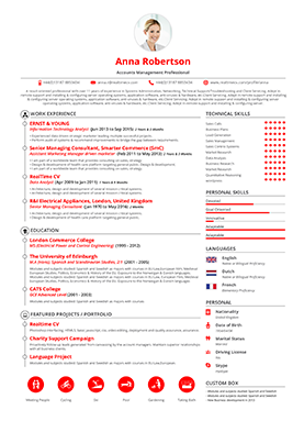 Resume Builders Gallery Choose Your Design