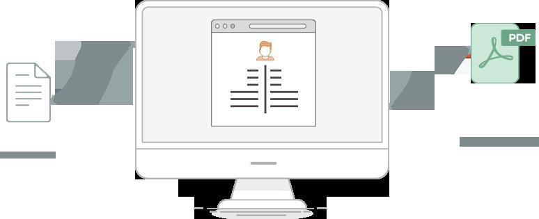 timeline resume builder template