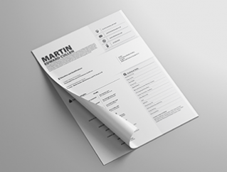Resume Template Outliner